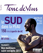 Magazine Terre de Vins - Lionel Gauby