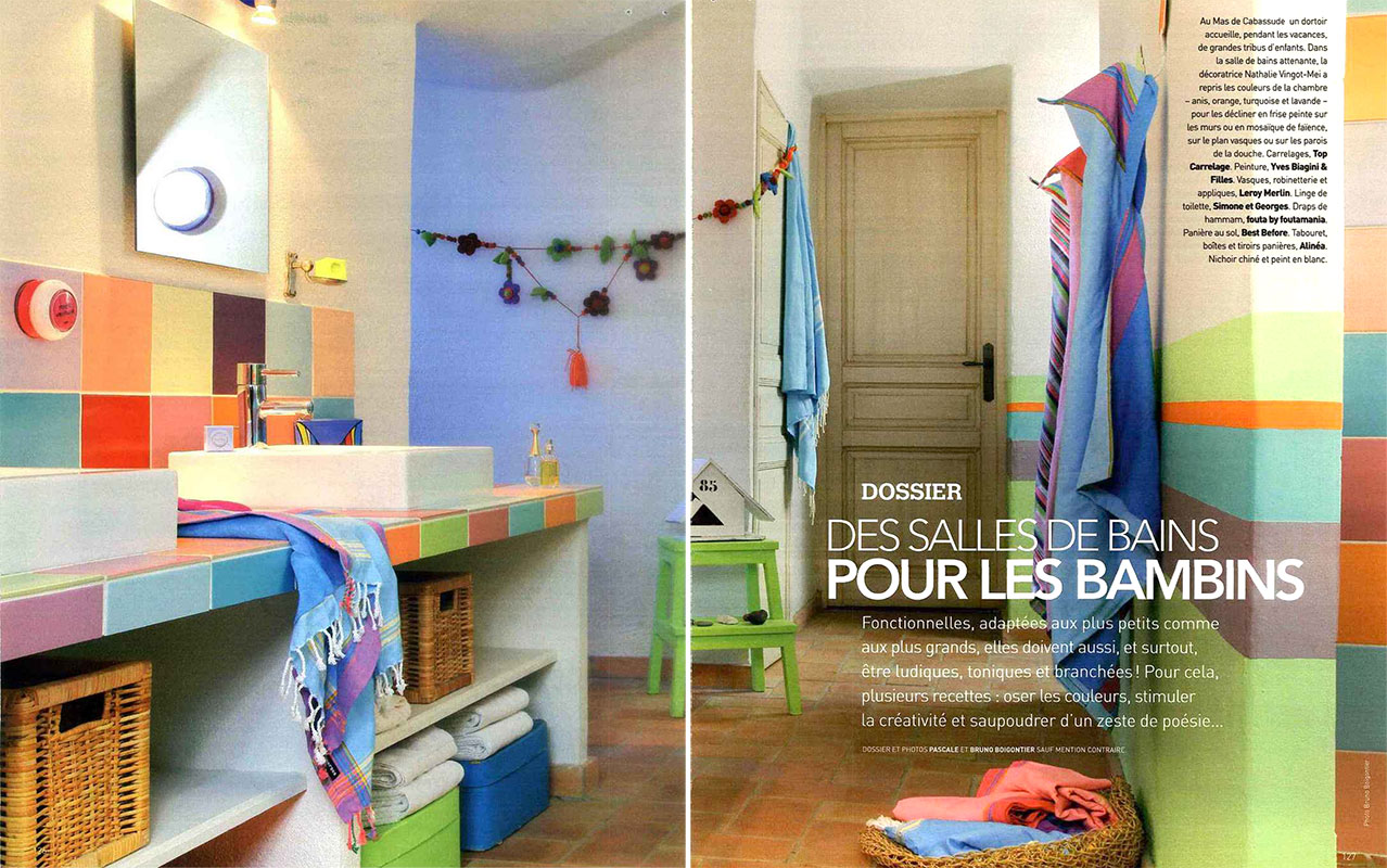Grand boise dans le magazine arts d coration les actualit s de grand boise for Decoration sal de bain