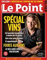 Magazine Le Point Spécial Vins