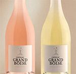 Grand Boise rosé et blanc