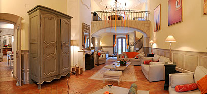 The Bastide of Grand Boise: The Large Sitting Room