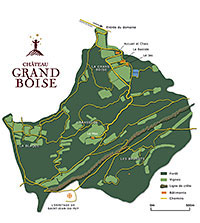 Map of Grand Boise estate