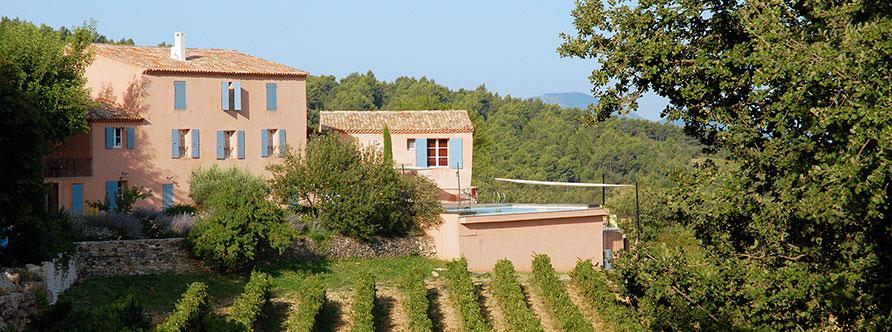 Provence mas de cabassude for Photo de mas provencal