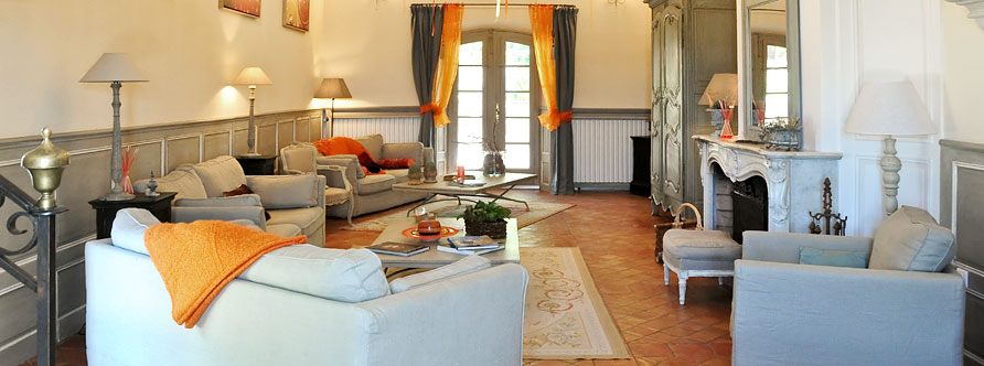 The Large Sitting Room - The Bastide of Grand Boise