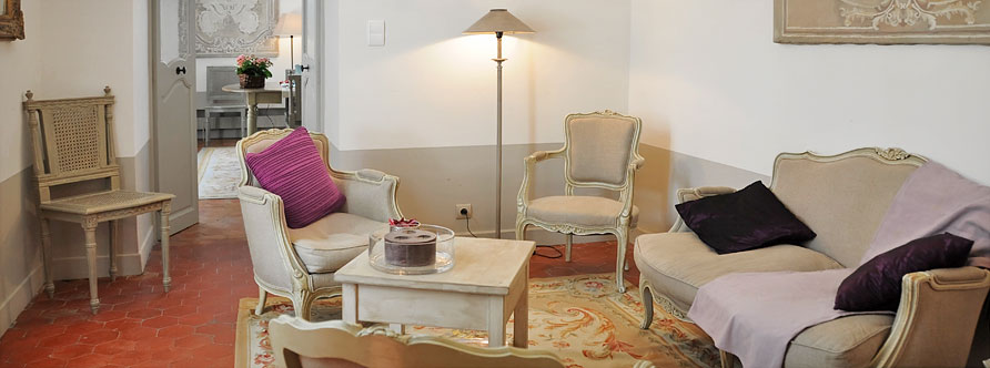 Small Drawing Room - The Bastide of Grand Boise