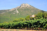 The Bastide and Mount Olympe
