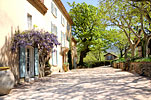 The Bastide of Chateau Grand Boise in the spring