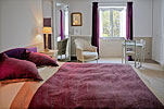 Parme bedroom - Bastide of Chateau Grand Boise